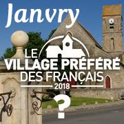 janvry village préféré des français