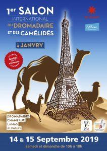 salon international des camélidés et du dromadaire à Janvry Essonne