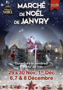 Marché de Noël de Janvry 2019