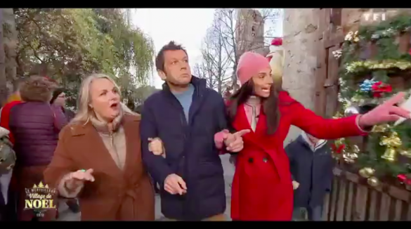 Janvry Merveilleux Village de Noël