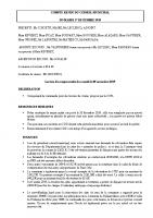 Compte-rendu conseil municipal 17-12-19