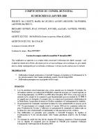 Compte-rendu conseil municipal 22-01-20