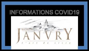 JANVRY COVID19 Informations