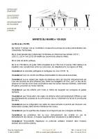 05-arrêté du Maire – non réouverture de l'école