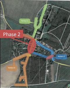 Assainissement rue du clos des vignes mai 2020 Phase 2