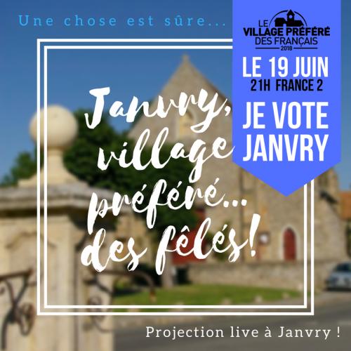 Janvry village prefere